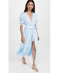 FANM MON Cide Dress - Blue