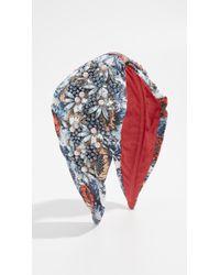 NAMJOSH - Embellished Floral Headband - Lyst
