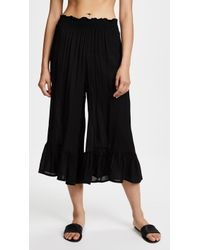 Cool Change - Payton Solid Culottes - Lyst