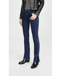 Rag & Bone Cate Mid-rise Skinny Jeans - Blue