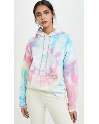DANNIJO Patchwork Tie Dye Hoodie - Multicolour