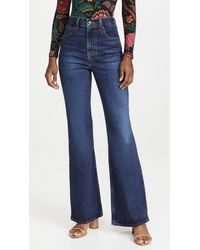 Levi's 70s High Flare Jeans - Blue