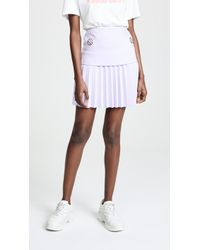 Dion Lee - Pleated Mini Skirt - Lyst
