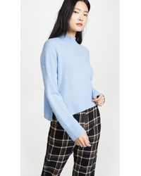 360 Sweater Emily Cashmere Sweater - Blue