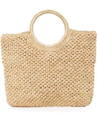 Hat Attack - Small Round Handle Bag - Lyst