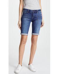 PAIGE - Jax Knee Shorts - Lyst