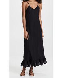 MILLE Roma Slip Dress - Black