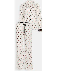 Pj Salvage Stand Up To Cancer Pj Set - White