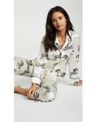Olivia Von Halle Lila Pajama Set - Multicolor