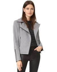 James Jeans - Classic Motorcycle Jacket - Lyst