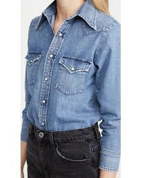 Citizens of Humanity Jules Denim Shirt - Blue