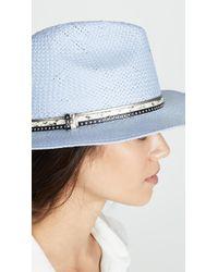 Eugenia Kim Genie Billie Hat - Blue
