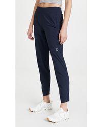 On Lightweight Pants - Blue