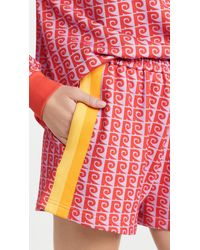 RHODE Steffi Track Shorts - Red