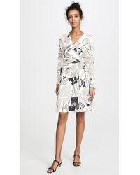 Diane von Furstenberg Shia Dress - White
