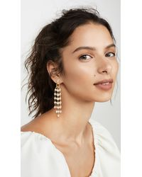 Brinker & Eliza Soirée Earrings - Metallic