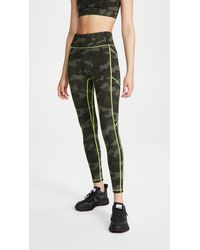 All Access Center Stage Pocket Leggings - Green