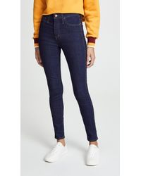 Madewell - High Rise Skinny Jeans - Lyst