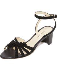 Sarah Flint - Snapdragon Block Heel Sandals - Lyst