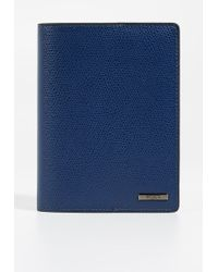 Tumi Province Passport Cover - Blue