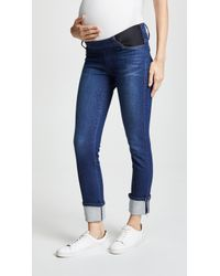 James Jeans - Ankle Straight Maternity Jeans - Lyst