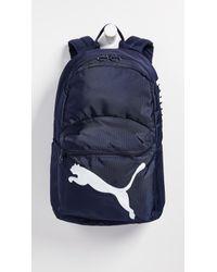 e4a3e9fc8f Lyst - PUMA Prime Small Backpack in White