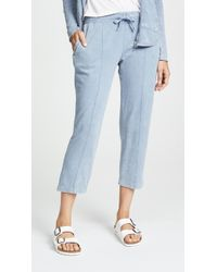 ATM - Chroma Wash Crop Trousers - Lyst