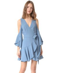 Finders Keepers | Patience Wrap Dress | Lyst