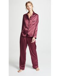 Bluebella - Claudia Shirt And Pant Set - Lyst