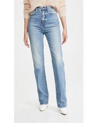 Khaite Danielle Jeans - Blue