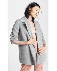 Theory - Clairene Coat - Lyst