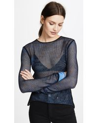 Helmut Lang - Sheer Pullover - Lyst
