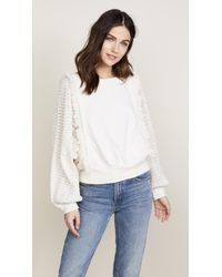 Free People - Faff & Fringe Pullover - Lyst