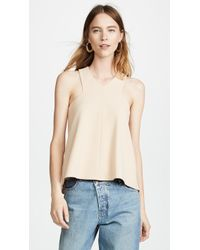 Tibi - V Neck Top - Lyst