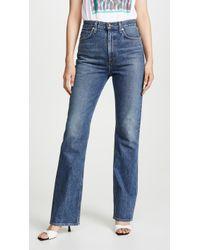 Agolde Vintage Flare Jeans - Blue