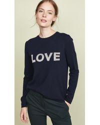 Chinti & Parker - Lurex Love Wool Sweater - Lyst
