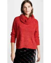 Cupcakes And Cashmere - Grover Cowl Neck Jumper - Lyst