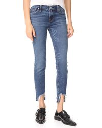 Hudson Jeans - Colette Midrise Skinny Cigarette Jeans - Lyst