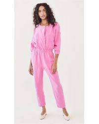 Rachel Comey Holt Jumpsuit - Pink