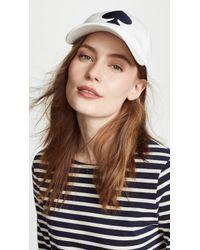 Kate Spade - Large Spade Baseball Hat - Lyst