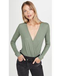 AG Jeans Lola Bodysuit - Green