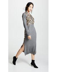 Goen.J - Wrap Knit Dress - Lyst