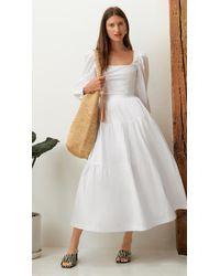 STAUD Sea Skirt - White