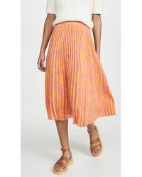 Tanya Taylor Jeana Skirt - Orange
