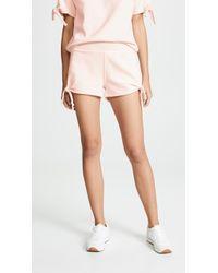 AMO - Tie Shorts - Lyst
