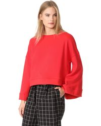 Warm - Minimal Sweatshirt - Lyst