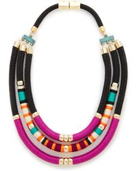 Holst + Lee - Tri Strand Necklace - Lyst