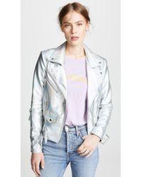 VEDA - Jayne Hologram Jacket - Lyst