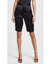 Fleur du Mal Bermuda Shorts - Black