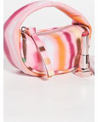 BY FAR Micro Cush Bag - Pink